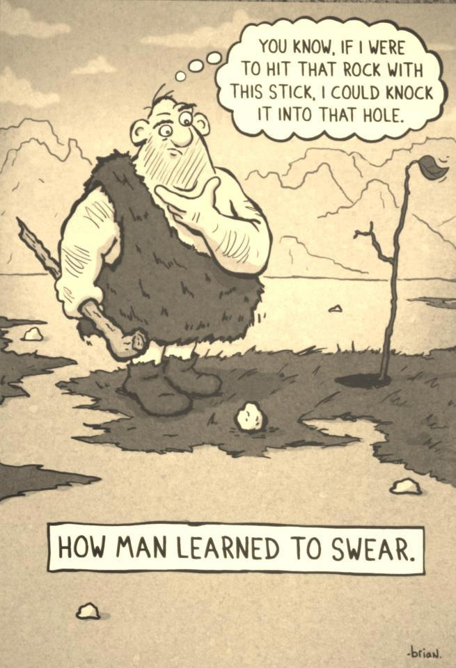How Man Learned To Swear