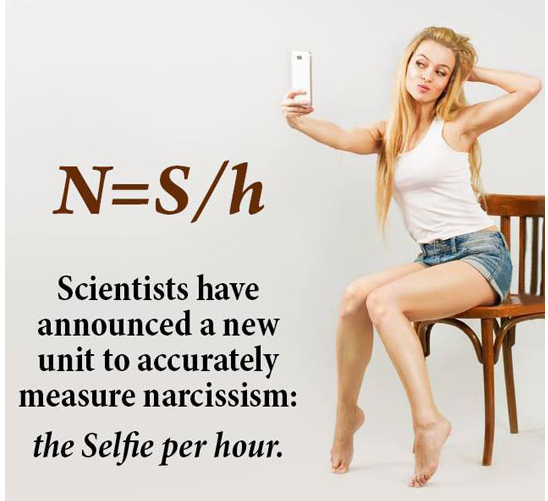 New Unit to measure narcissism