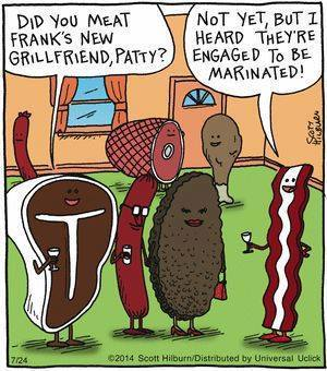 Cartoon Of The Day: Meat Patty