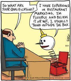 Cartoon Of The Day: Qualifications