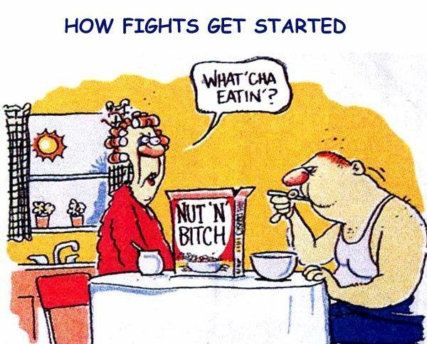 Cartoon Of The Day: How Fights Get Started