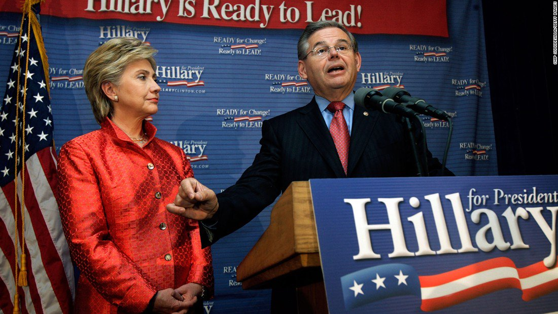 Prosecutors Say Democratic Senator Robert Menendez Used Underage Hookers