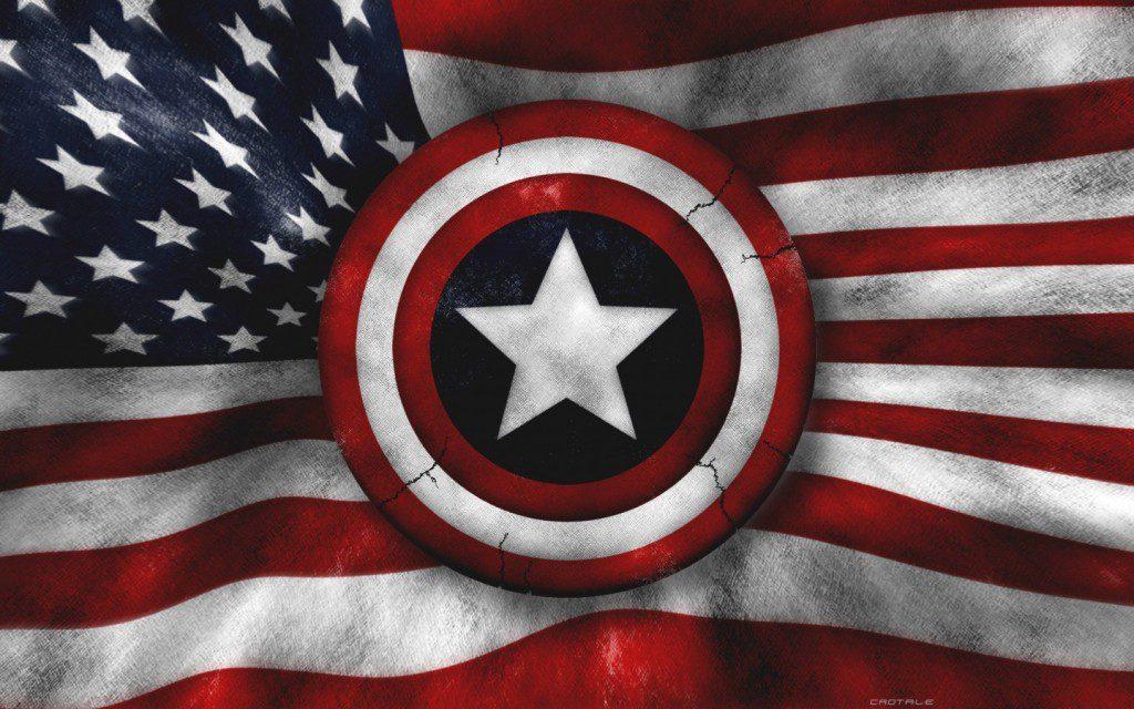 US Army Star American Flag