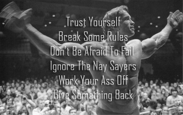 Arnold Schwarzenegger Six Rules Of Success Common Sense