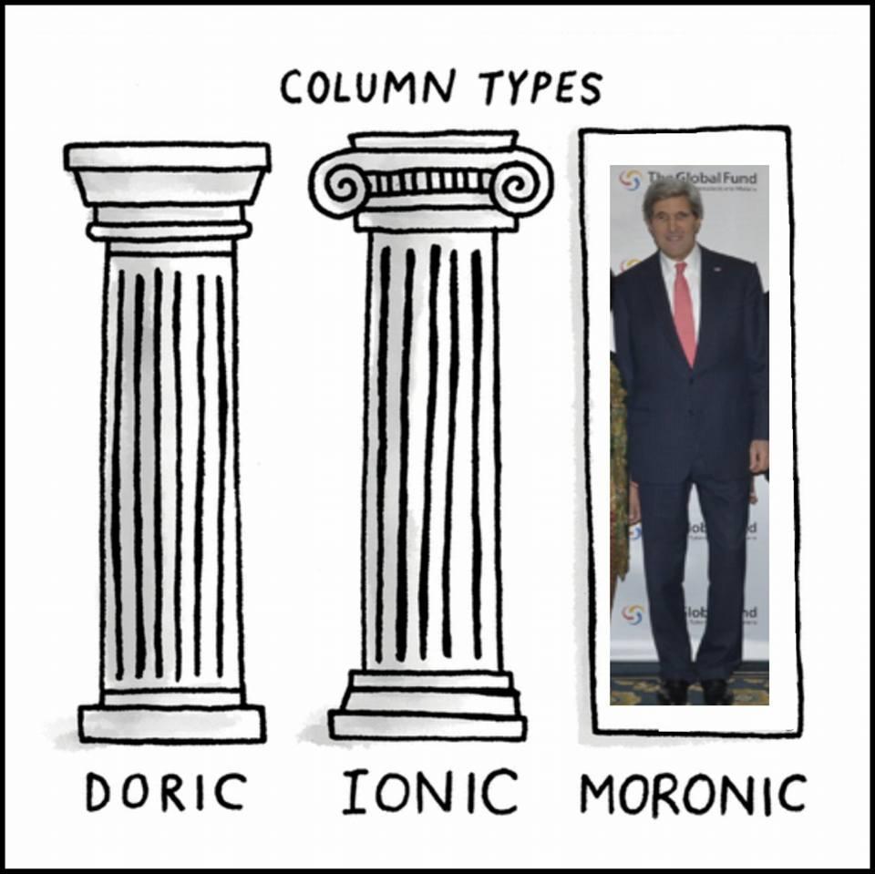 column types john kerry