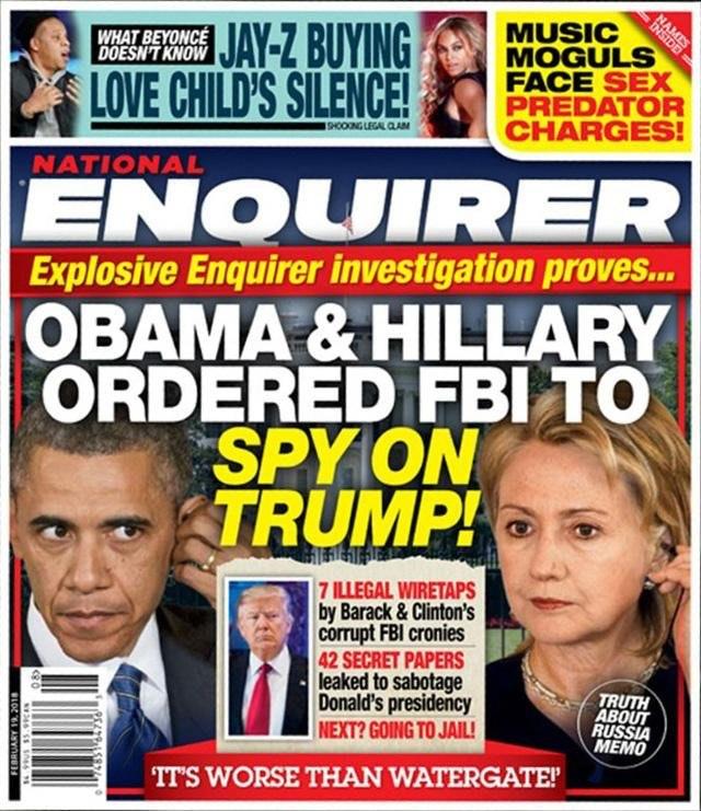 National enquirer obama secrets